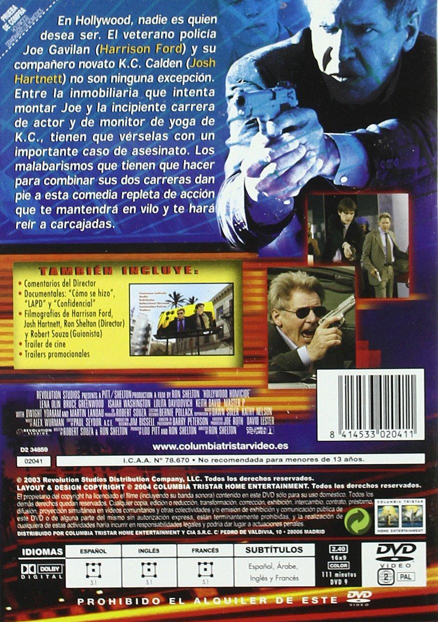 Hollywood:Dep.Homicidios Dvd: Amazon.es: Harrison Ford ...