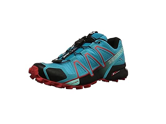 Salomon Womens Speedcross 4 - Zapatillas Para Mujer, Gris (Quarry/
