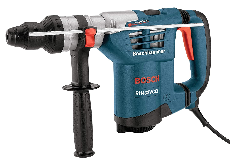Bosch RH432VCQ 1-1/4-Inch SDS-Plus Rotary Hammer Kit on