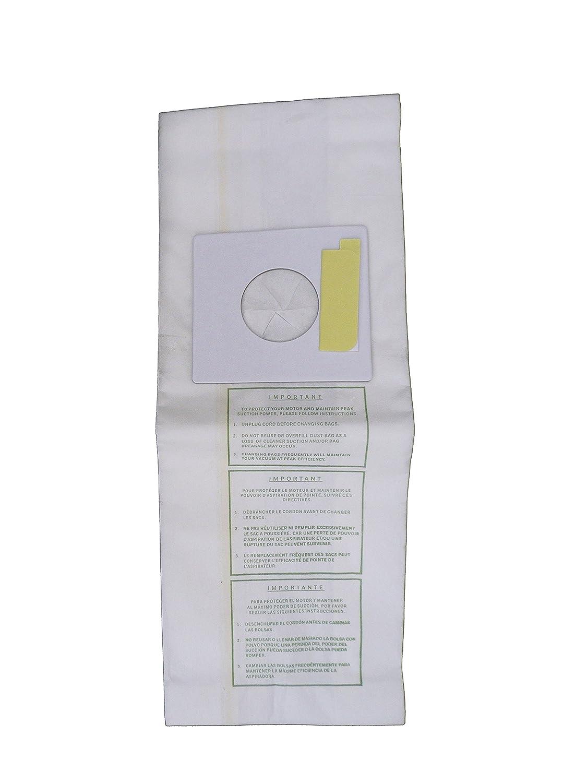 9 Sharp Pu2 Allergy Vacuum Bags, Upright Vacuum Cleaners EC12SWC ECT5970 ECT5980 ECTU5907 ECTU5909 ECTU5910 EC12TWT4 EC12TXT2 ECS2720 ECT2840 ECT2850 ...