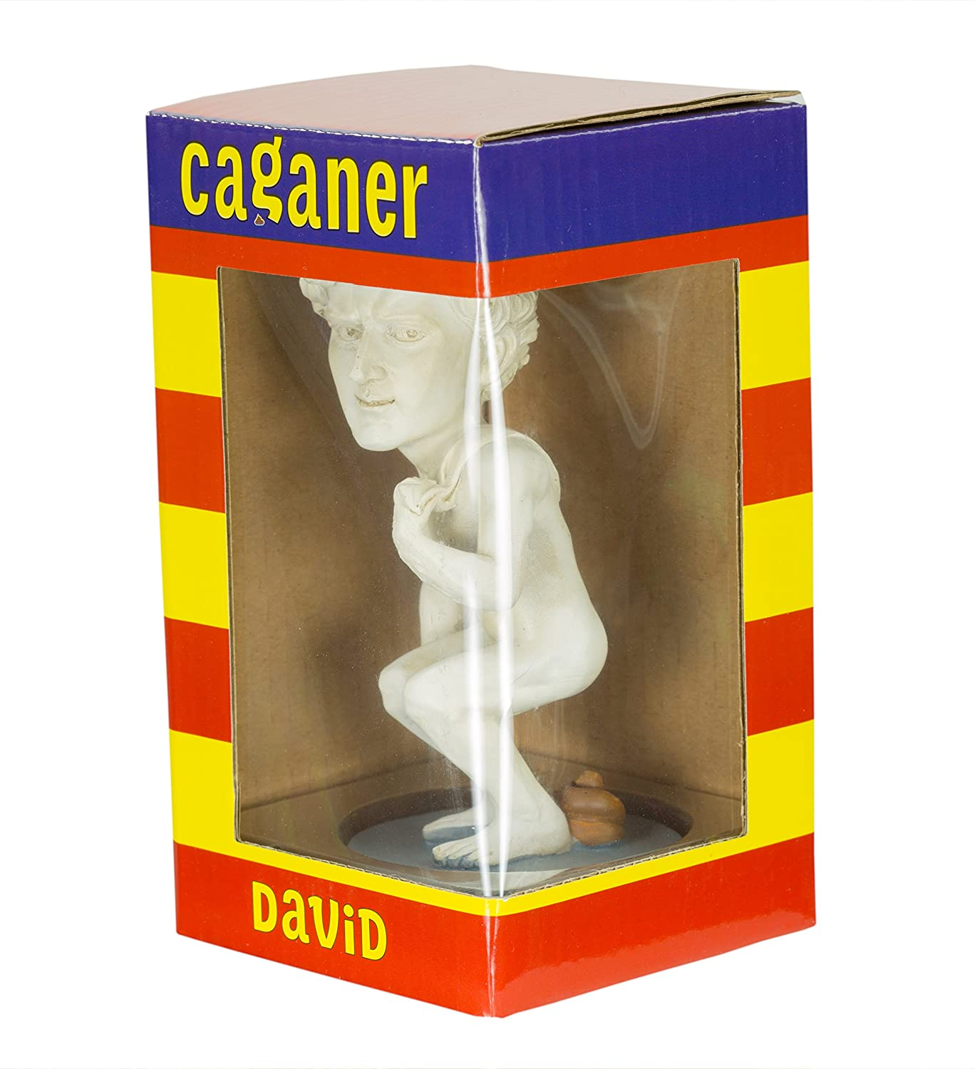 David Caganer by Caganer Shop Great White Elephant Gift Modern Interpretation of Catalan Nativity Scene Poo Figurine/—Pooping Statue/—Funny Gift Hilarious Holiday Tradition