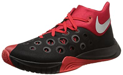buy online cce50 2a325 ... norway nike mens zoom hyperquickness 2015 basketball shoe black  university red silver size 7.5 m 5e3cf