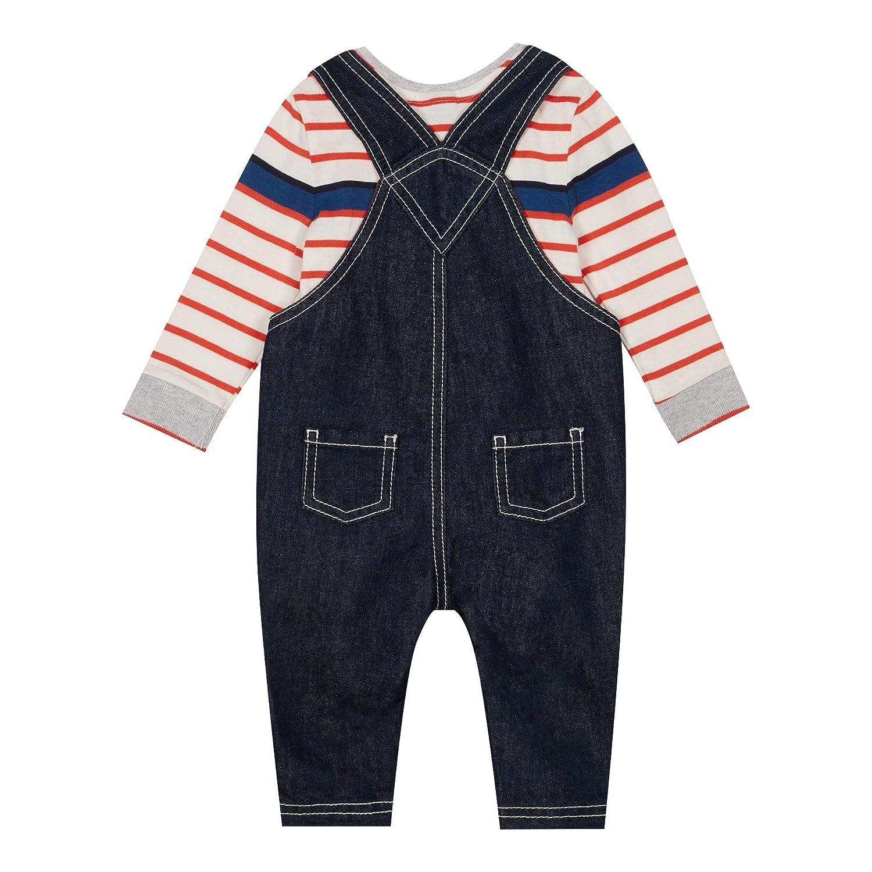 b3610058c J by Jasper Conran Kids Baby Boys  Blue Denim Dungarees and Bodysuit ...