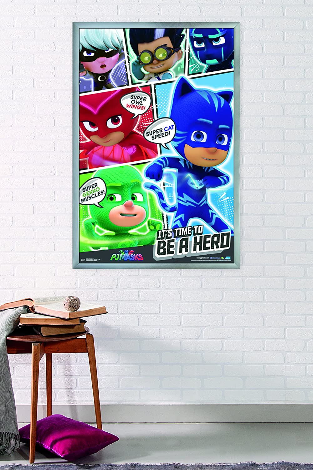 Amazon.com: Trends International Wall Poster PJ Masks Powers, 22.375 x 34: Home & Kitchen