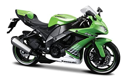 Buy Maisto 112 Kawasaki Ninja Zx 10r Green Online At Low Prices In