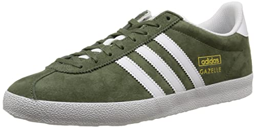 adidas Gazelle OG, Unisex Adults' Trainers, Green - GrÃ1/4n (Base Green S15/FTWR White/Gold Met.), 5.5 UK (38.5 EU): Amazon.co.uk: Shoes & Bags