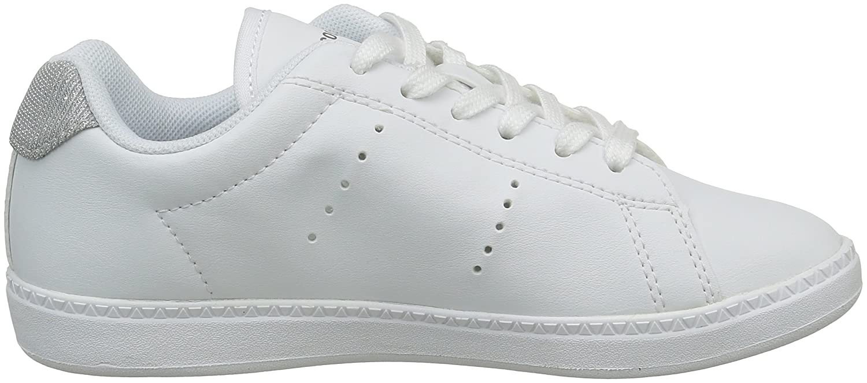 Le Coq Sportif Courtone GS Glitter, Zapatillas para Niñas, Blanco (Optical WhiteOptical White), 29 EU: Amazon.es: Zapatos y complementos