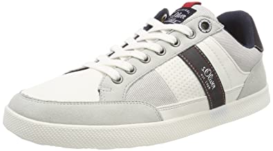 13636, Sneakers Basses Homme, Blanc (White Comb.), 45 EUs.Oliver
