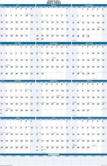 2021-2022 Calendar Background