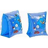 Novicz Kids Inflatable Floating arm Band Tube/Swimming arm Bands/Inflatable Pool Floating arm Band Tube (Multi Colour)