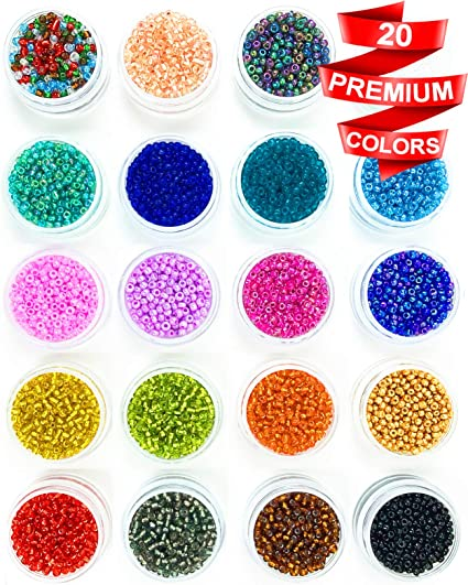 New 2mm 3mm 4mm Transparent Glass Seed Spacer beads Jewelry Fitting craft Pick