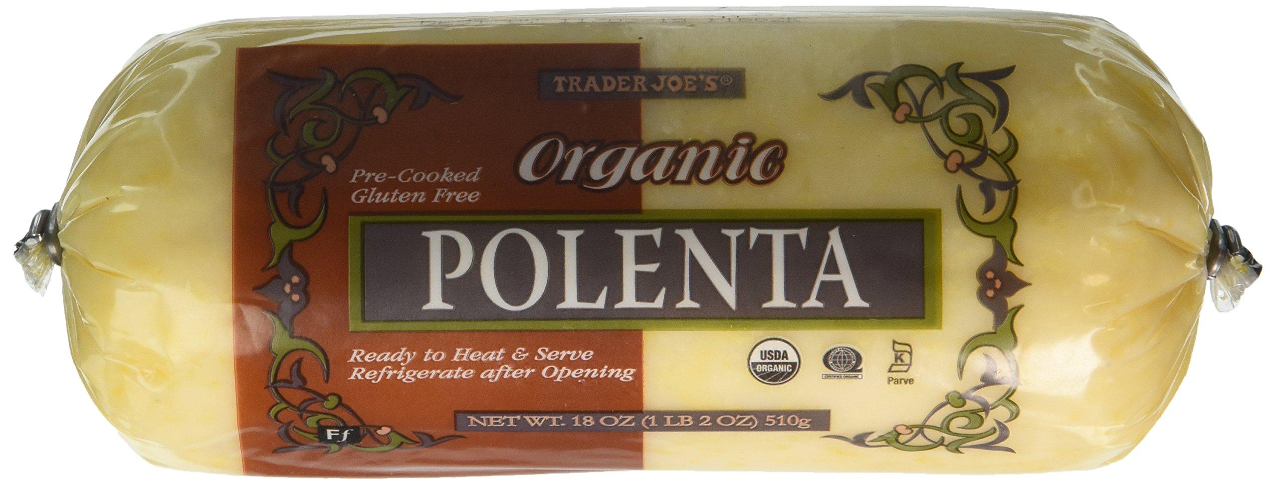 Trader Joe's Organic Polenta 18oz (1lb 2oz) 510g by Trader Joe's