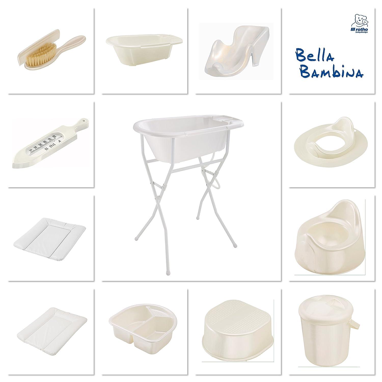 Silver Rotho Babydesign Thermom/ètre de bain Princesse