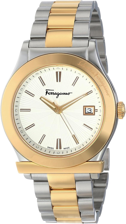 Salvatore Ferragamo Men s FF3070014 FERRAGAMO 1898 Two-Tone Stainless Steel Watch