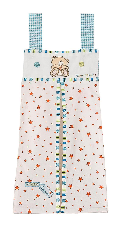 Forever Friends Bear Little Star Nappy Stacker (Blue) 5060229211552