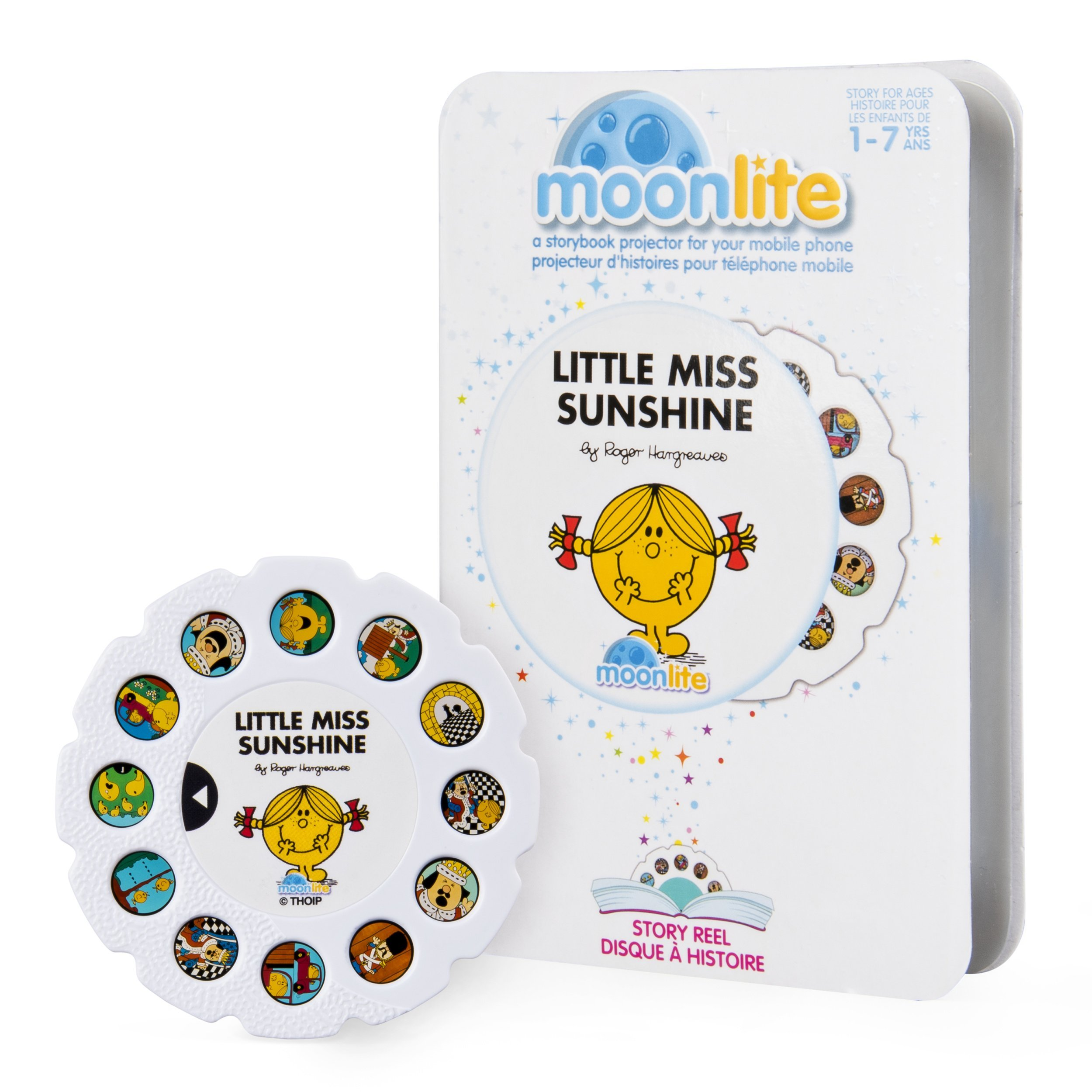 Moonlite - Little Miss Sunshine Story Reel for Moonlite Storybook Projector, for Ages 1 and Up