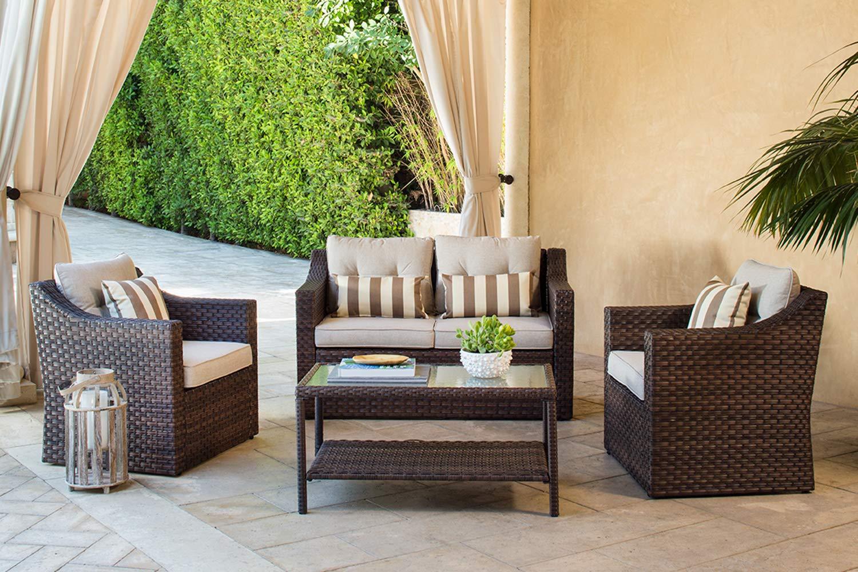 Amazon.com: Solaura - Juego de muebles de exterior de 2 a 7 ...