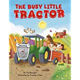 The Busy Little Tractor - Childen's Padded Board Book
