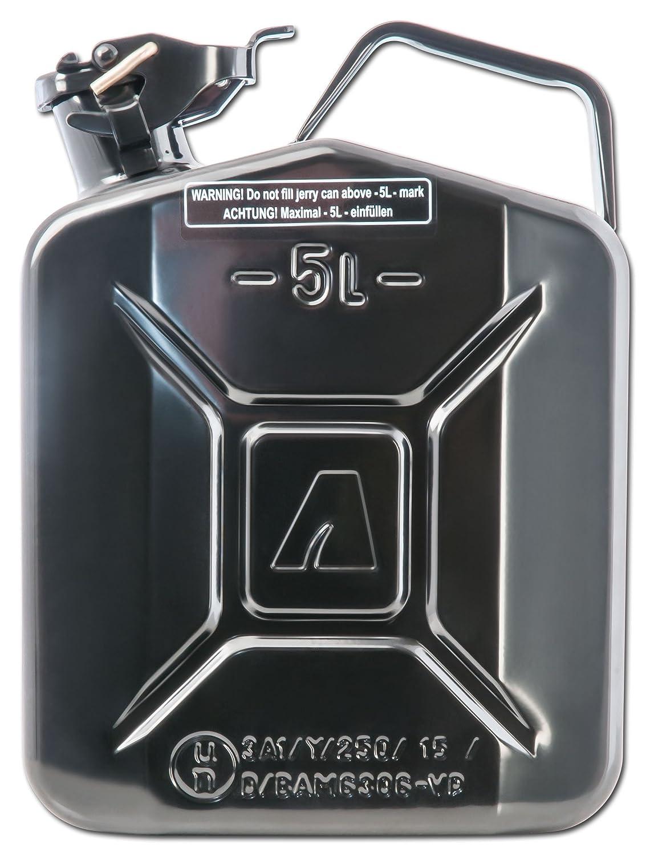noir Bidon /à carburant 5/l en m/étal Arnold 6011-X1 2000
