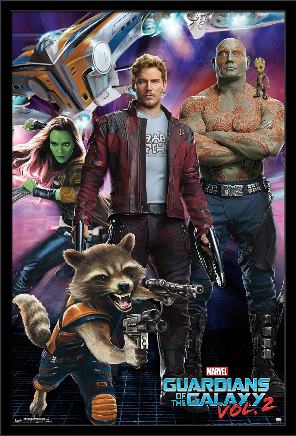 GUARDIANS OF THE GALAXY Movie PHOTO Print POSTER Textless Film Art Marvel 002