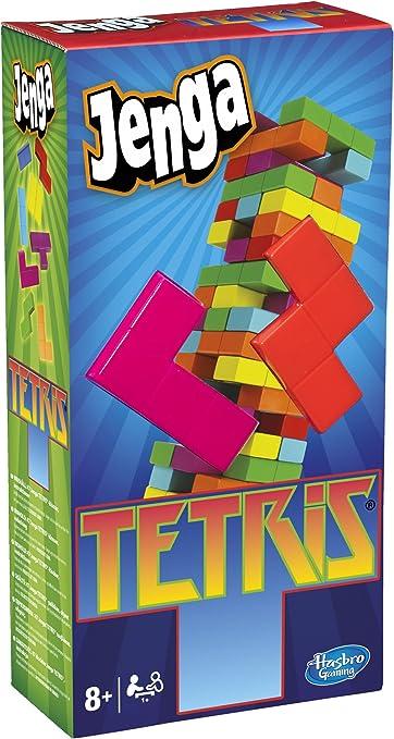 Hasbro Juegos Jenga Tetris, Juego de Habilidad (A4843E24): Amazon.es: Juguetes y juegos
