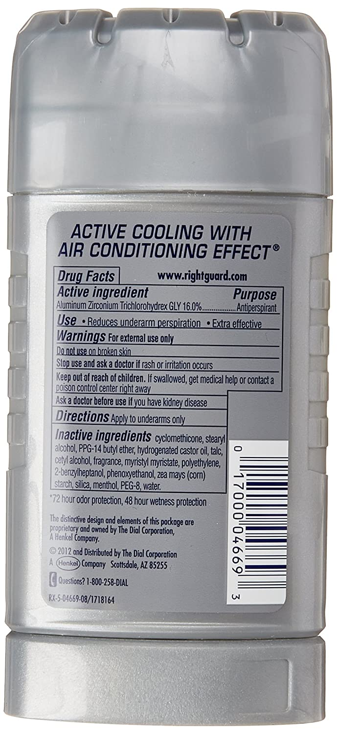 Right Guard Xtreme Cooling, 2.6 Ounce