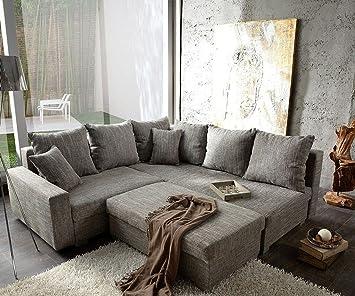 Sofá Lavello con taburete rinconera L de sofá: Amazon.es: Hogar