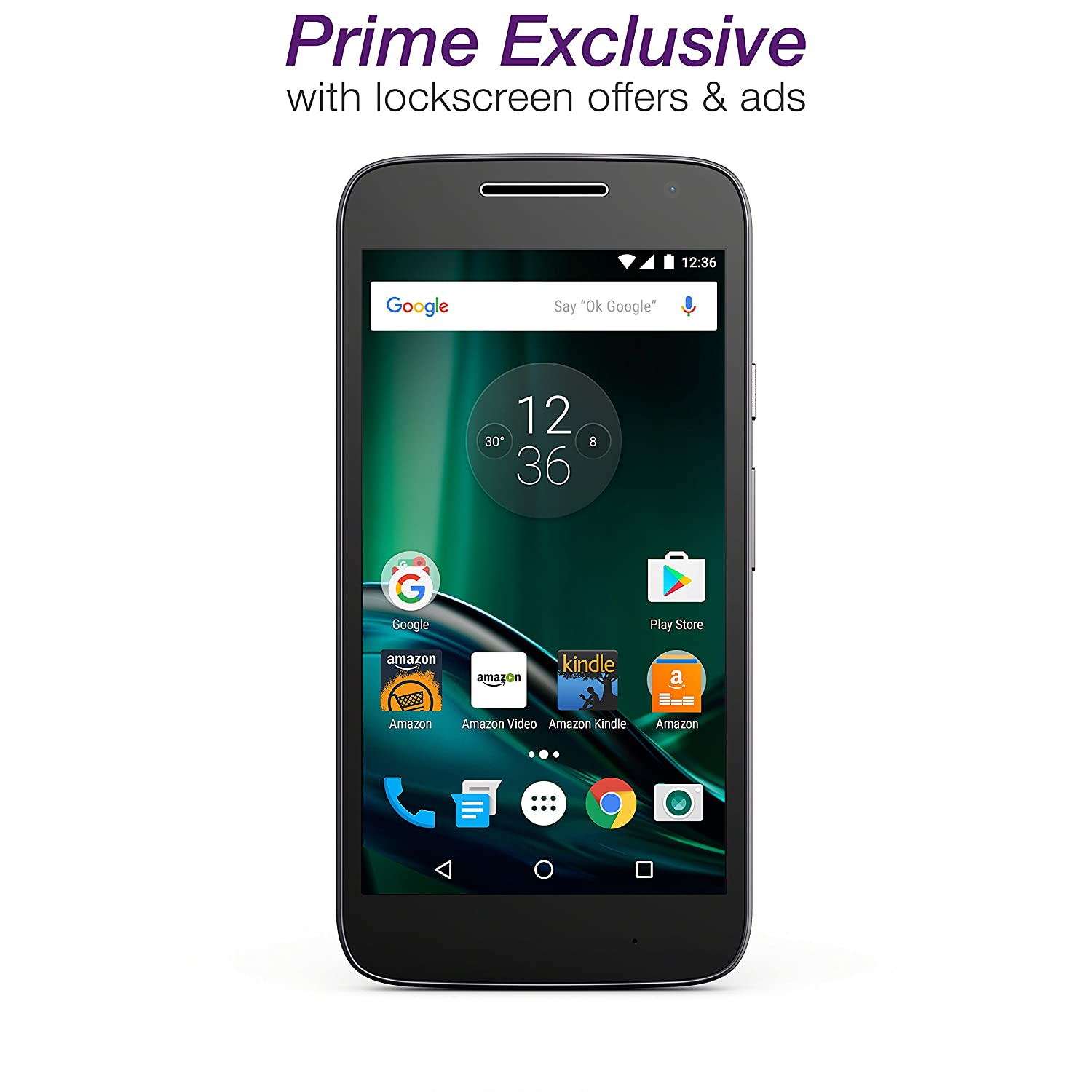 Amazon prime membership phone number - Amazon Com Moto G Play 4th Gen Black 16 Gb Unlocked Prime Exclusive With Lockscreen Offers Ads Cell Phones Accessories