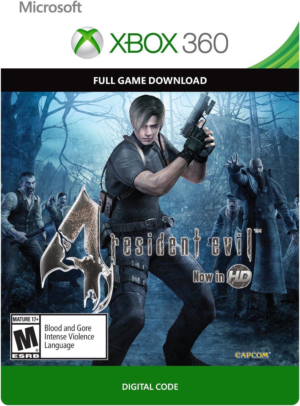 Amazon com: Resident Evil 4 - Xbox 360 Digital Code: Video Games
