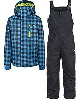 Trespass Childrens/Kids Olsen Waterproof Ski Jacket & Pants Set