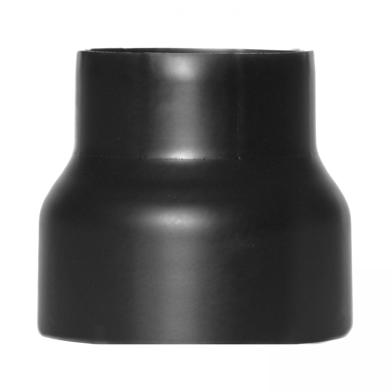 raik SH013-011-sw Rauchrohr / Ofenrohr Reduzierung 180mm - 160mm schwarz