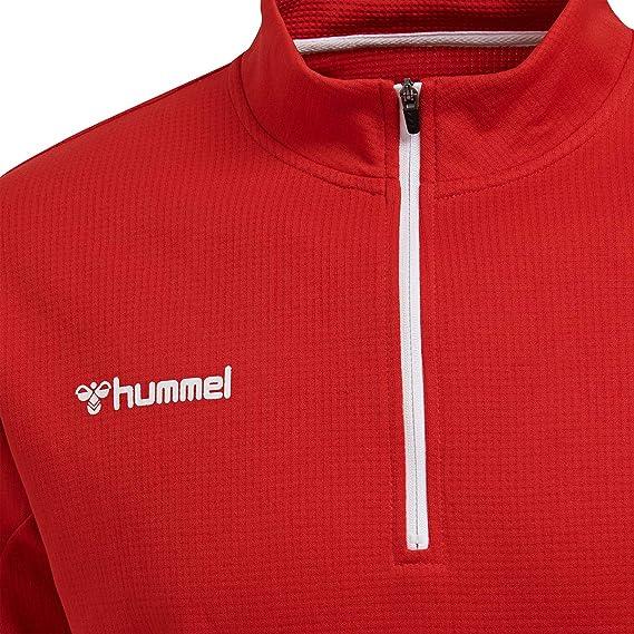 hummel Hmlauthentic Half Zip Sweatshirt Maillot de surv/êtement Homme