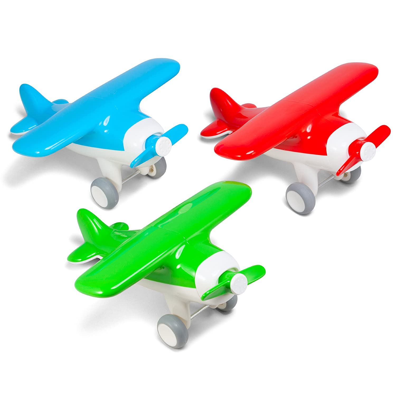 Kid O Air Plane Early Learning Push /& Pull Toy