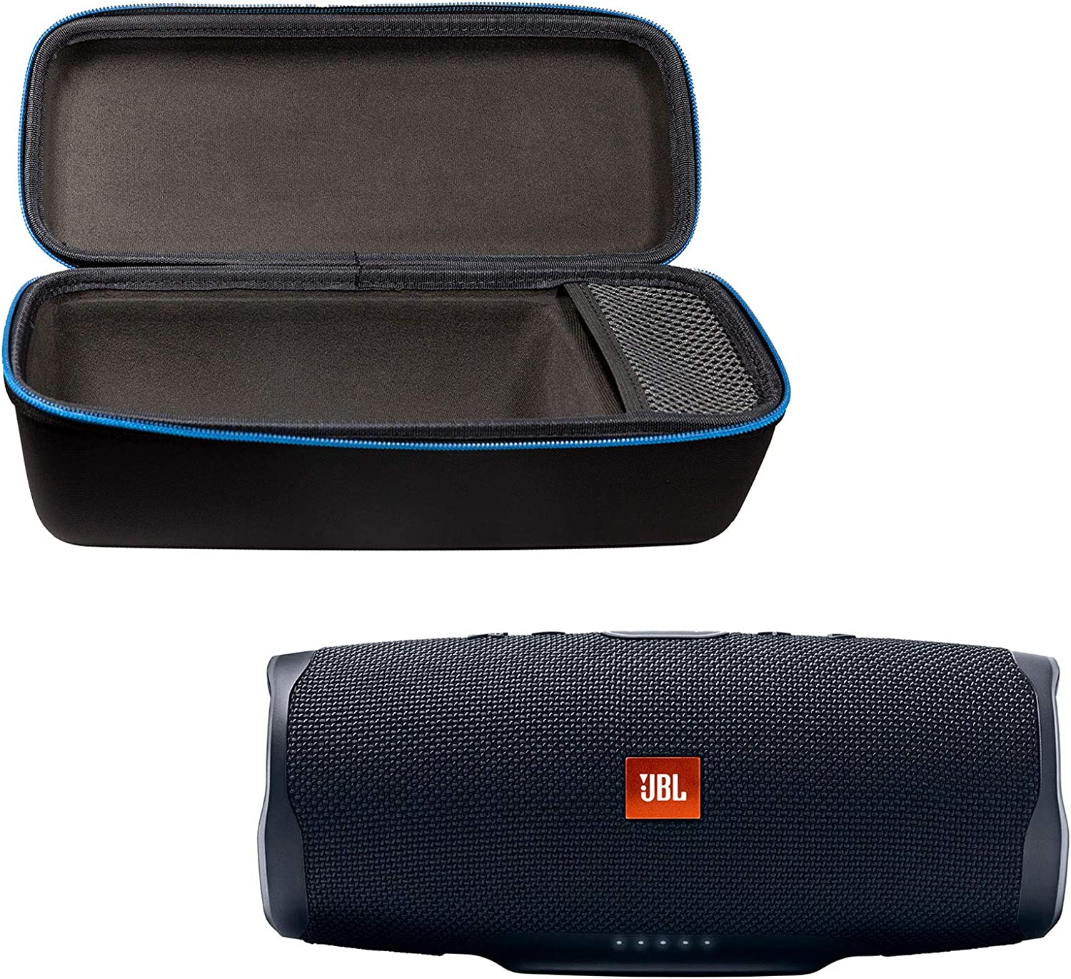 Amazon Com Jbl Charge 4 Portable Waterproof Wireless Bluetooth Speaker Bundle With Divvi Charge 4 Protective Hardshell Case Black Home Audio Theater