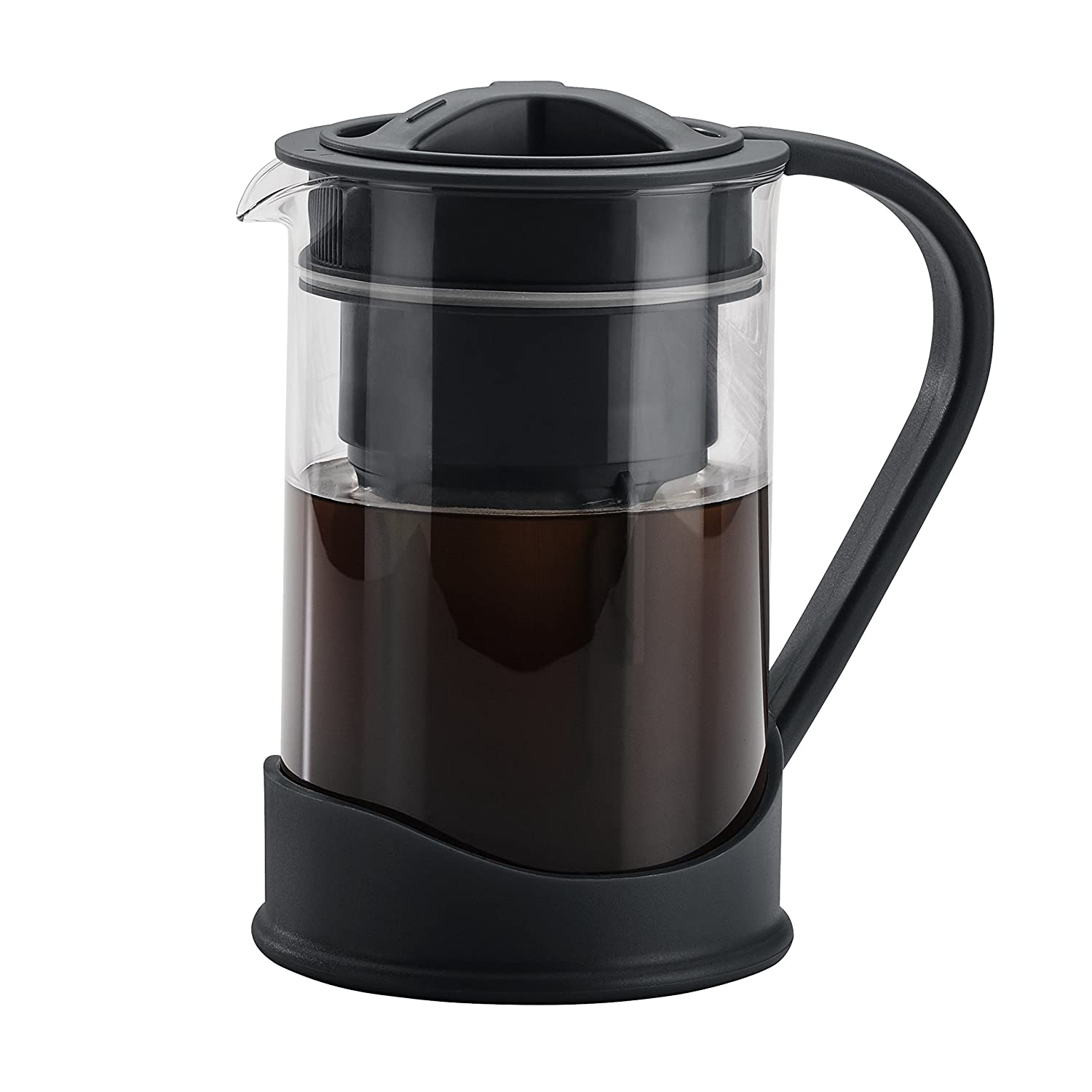 BonJour 50.7oz Cold Brew Coffee Maker, Black 47112.0
