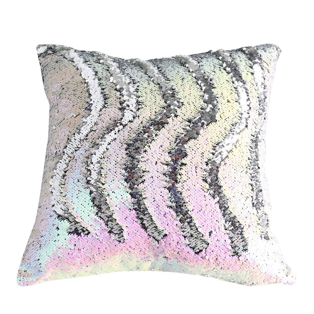 Boobei Two Colors Reversible Sequins Mermaid Pillow Cases  : 81rKDp4A1XLSL1000 from www.ebay.com size 1000 x 1000 jpeg 256kB