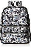 Lesportsac Essential系列 女式 FUNCTIONAL BACKPACK款式双肩包 1708F2296G272 绿色/黑色/米色 380 * 320 * 150mm