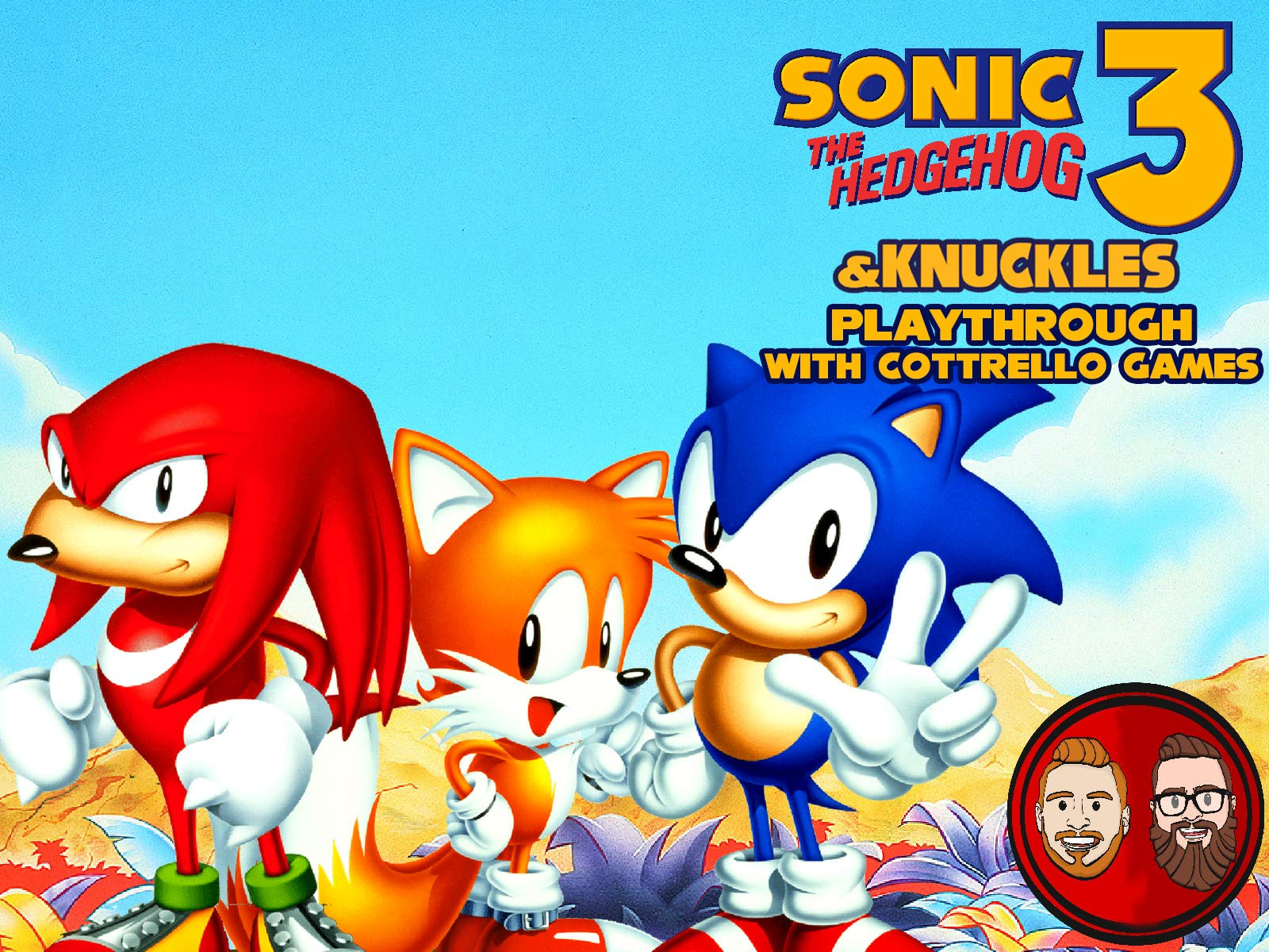 Amazon Com Watch Sonic The Hedgehog 3 Knuckles Playthrough With