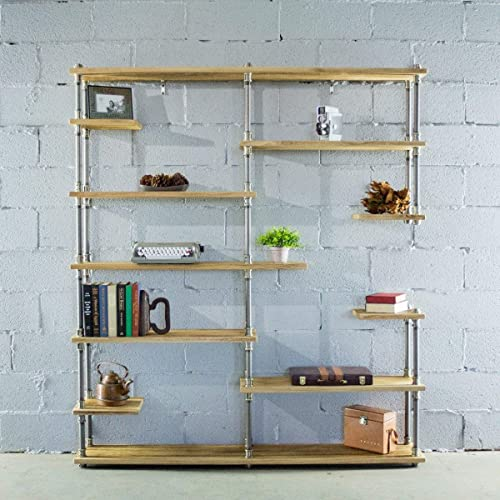 Deal of the week: Furniture Pipeline Nashville Industrial Mid-Century Etagere Bookcase