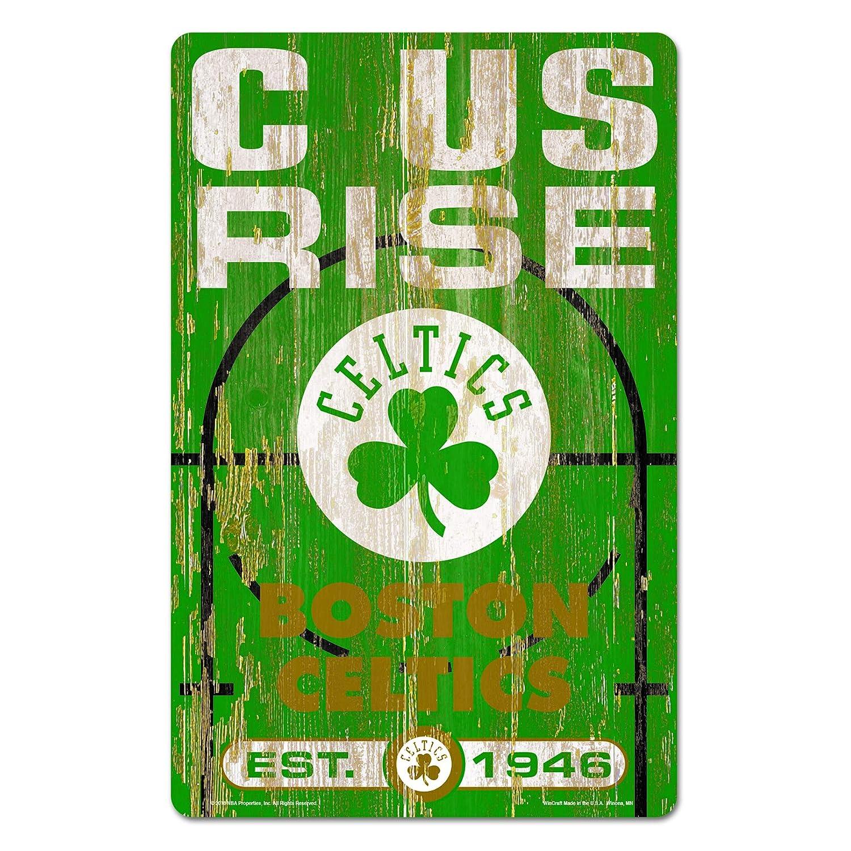 Wincraft Boston Celtics Wood Sign