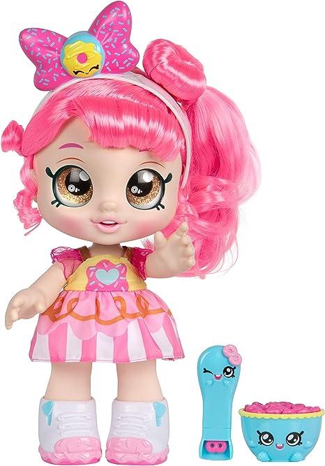 "Kindi Kids Snack Time Friends, Pre-School 10"" Doll - Donatina"