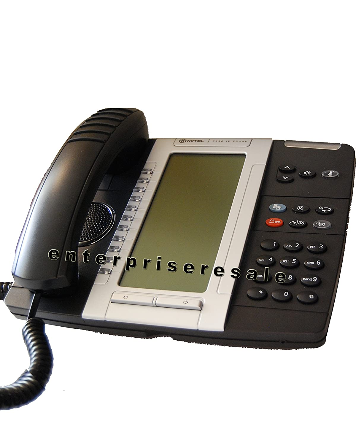 MITEL 5330 DUAL MODE VoIP BUSINESS PHONE WITH BACK LIT DISPLAY 50005804 1 YEAR WARRANTY (Certified Refurbished)