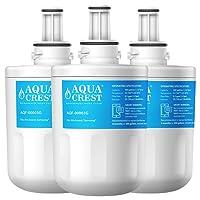 AQUACREST Compatible Samsung Aqua Pure PLUS DA29-00003G, DA29-00003F, DA29-00003B, DA29-00003A, HAFIN2/EXP, DA97-06317A, DA61-00159A, DA2900003A,Filtre à Eau de Remplacement pour Réfrigérateur(3 Pack)