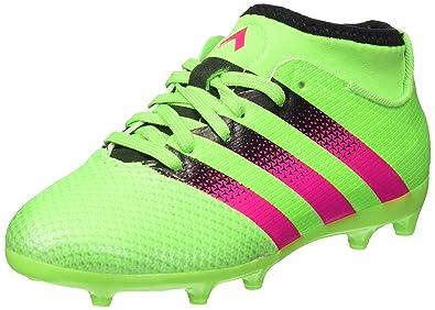 buy online b7c89 ce246 adidas Unisex Babies Ace 16.3 Primemesh Fgag J Football Boots Multicolour  Size