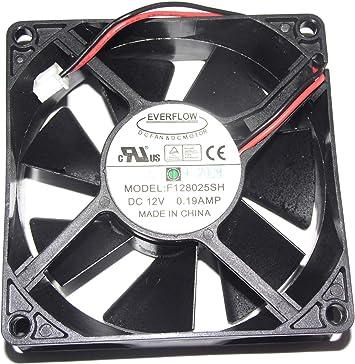 Everflow 8025 12 V 0.19 A f128025sh 2 Cable Ventilador de ...