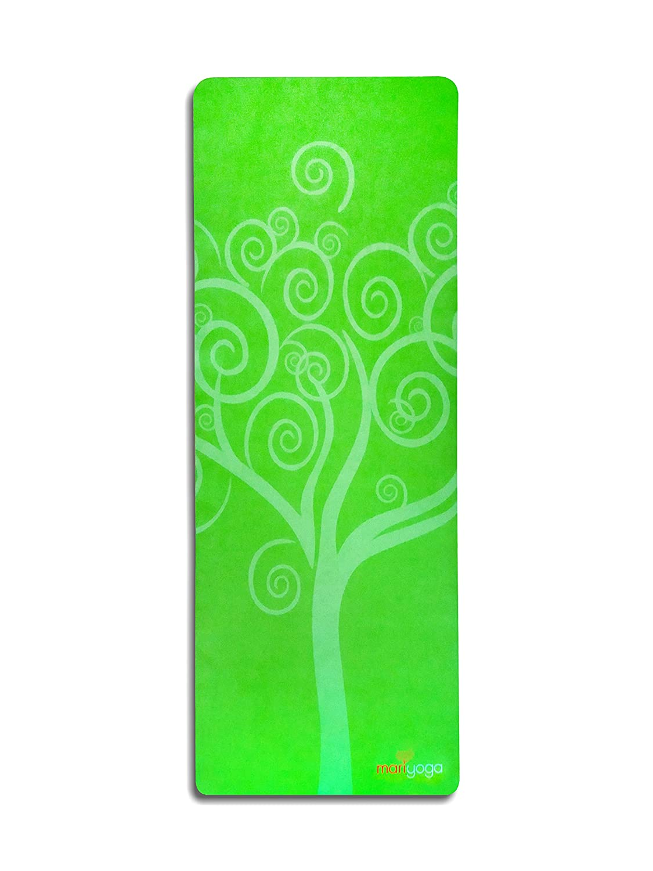 Koru Tree Yoga mat (eco, 100% Natural rubber tree - apple Grün)