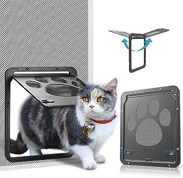 Amazon.com: OWNPETS Puerta de pantalla para mascotas ...