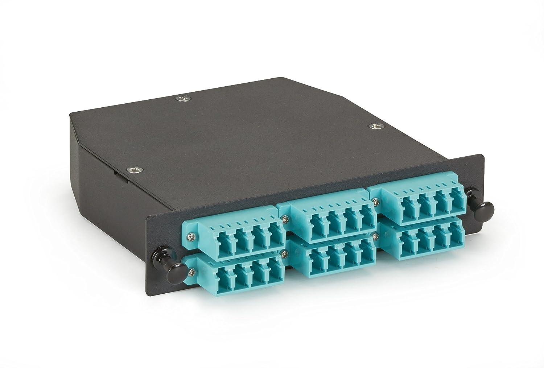 ブラックボックスMTP om3光ファイバLGXカセット( 2 ) MTP 12 to ( 24 ) LCタイプA B01M65PGIE