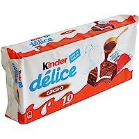 Ferrero Kinder Delice Cacao 42g (paquete de 10)