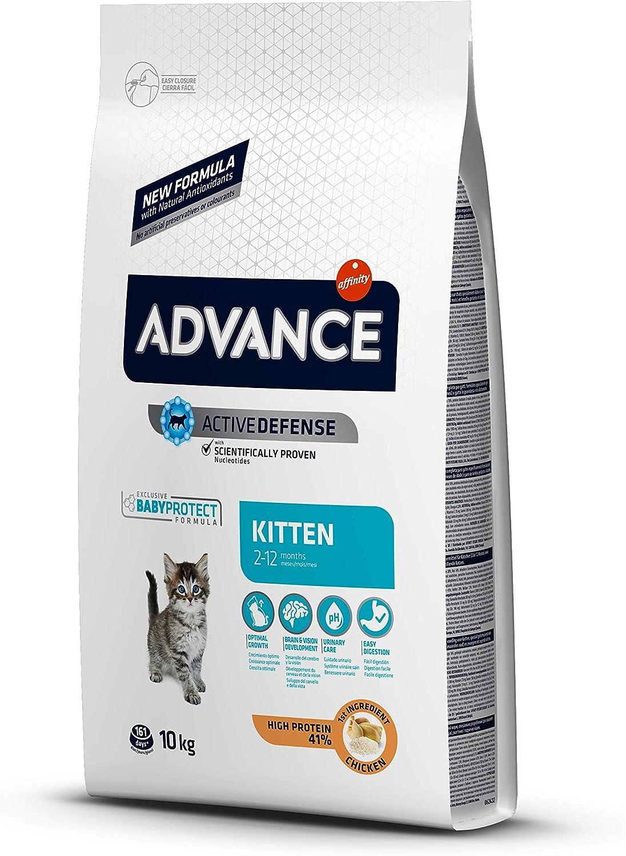 ADVANCE Cibo per Gatti Kitten Pollo e Riso - 10kg